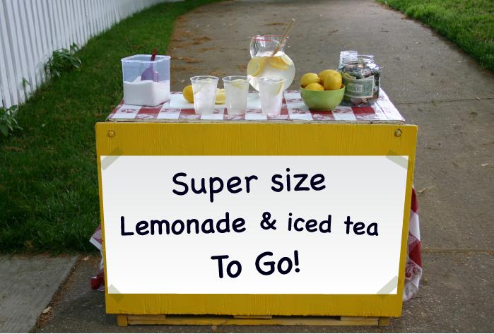 Lemonade Stand Cal DiJulius