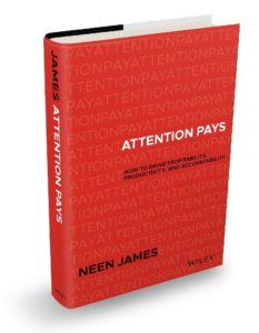 Attention Pays, book by Neen James