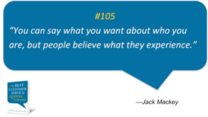 Experience Quote by Jack Mackey