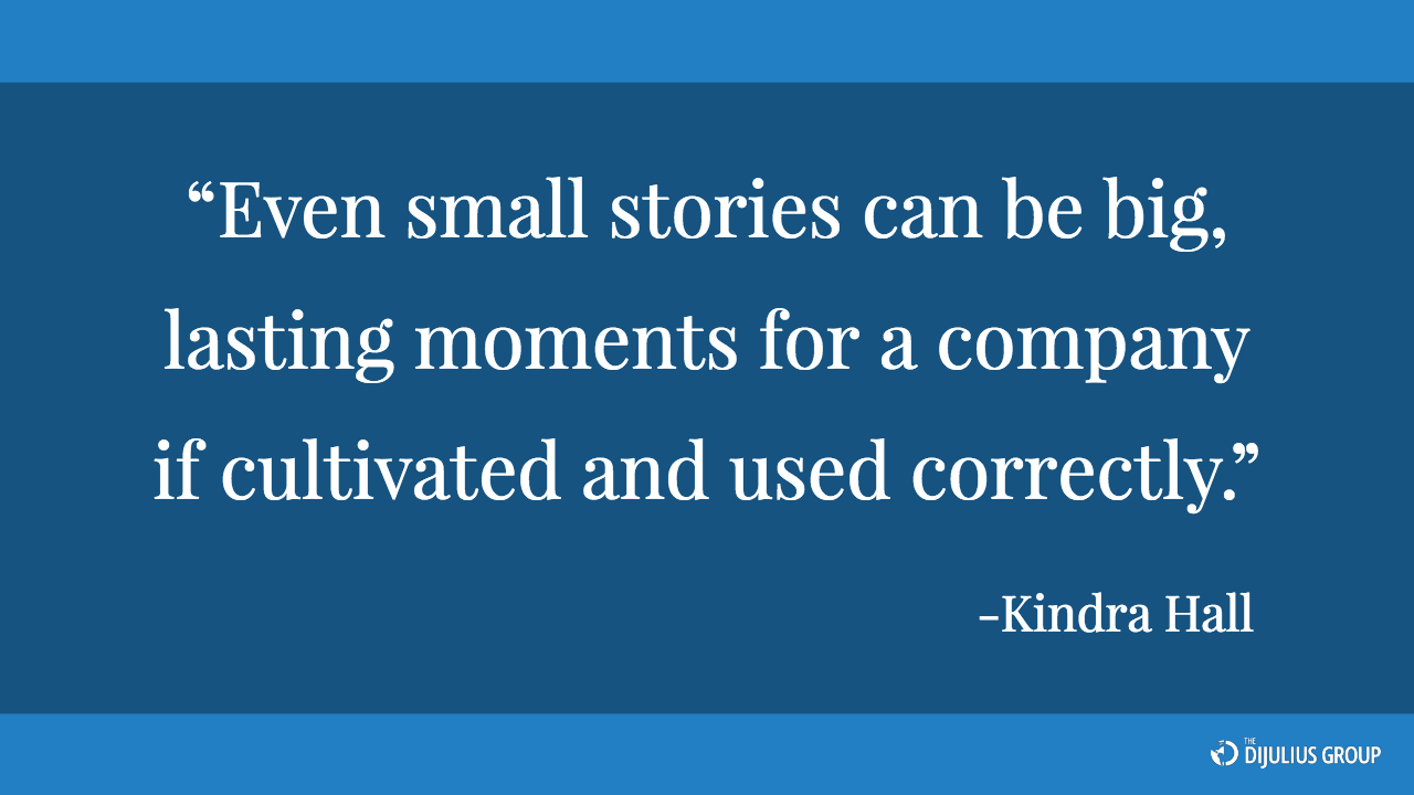 PR Quote from Kindra Hall