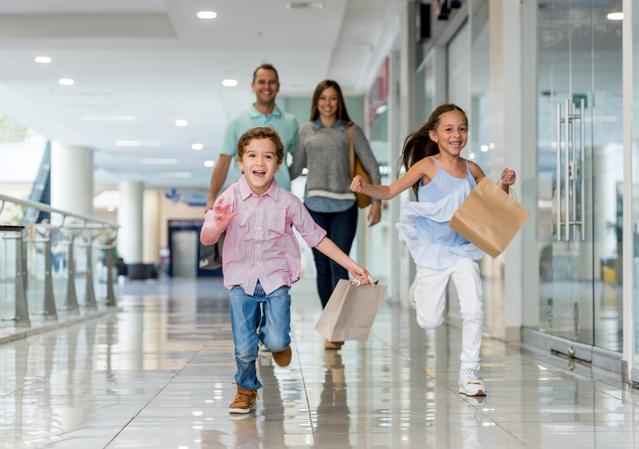 Retail Shopping with Your Family