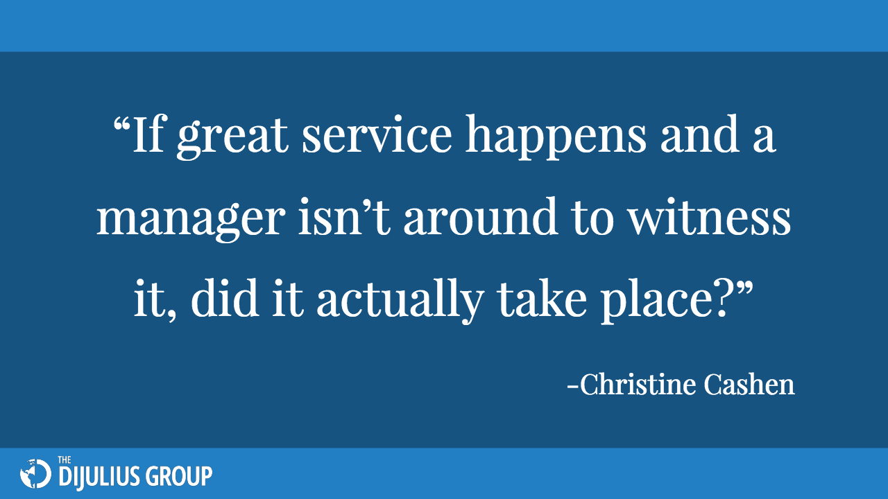 Quote from 2018 Customer Service Revolution Conference Speaker Christine Cashen