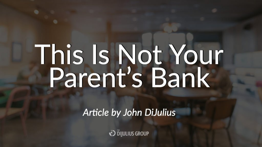This Is Not Your Parent's Bank, an article by John DiJulius about Capital One Cafe