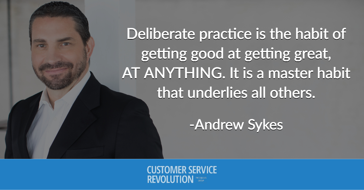 Quote by Andrew Sykes, Breakout Speaker for the 2018 Customer Service Revolution Conference in Cleveland, Ohio