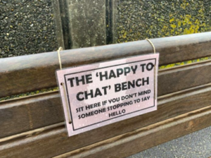 Happy Chat Benches