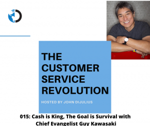 015: Cash is King, The Goal is Survival with Chief Evangelist Guy Kawasaki