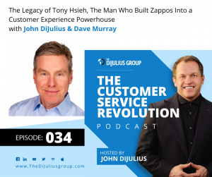 034: The Legacy of Tony Hsieh, The Man Who Built Zappos Into a Customer Experience Powerhouse