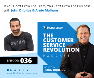 036: If You Don't Grow The Team, You Can't Grow The Business