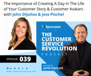 039: The Importance of Creating A Day in The Life of Your Customer Story & Customer Avatars