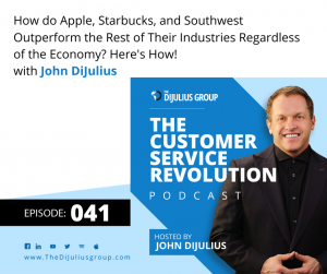 041: How do Apple, Starbucks, and Southwest Outperform the Rest of Their Industries Regardless of the Economy? Here's How!
